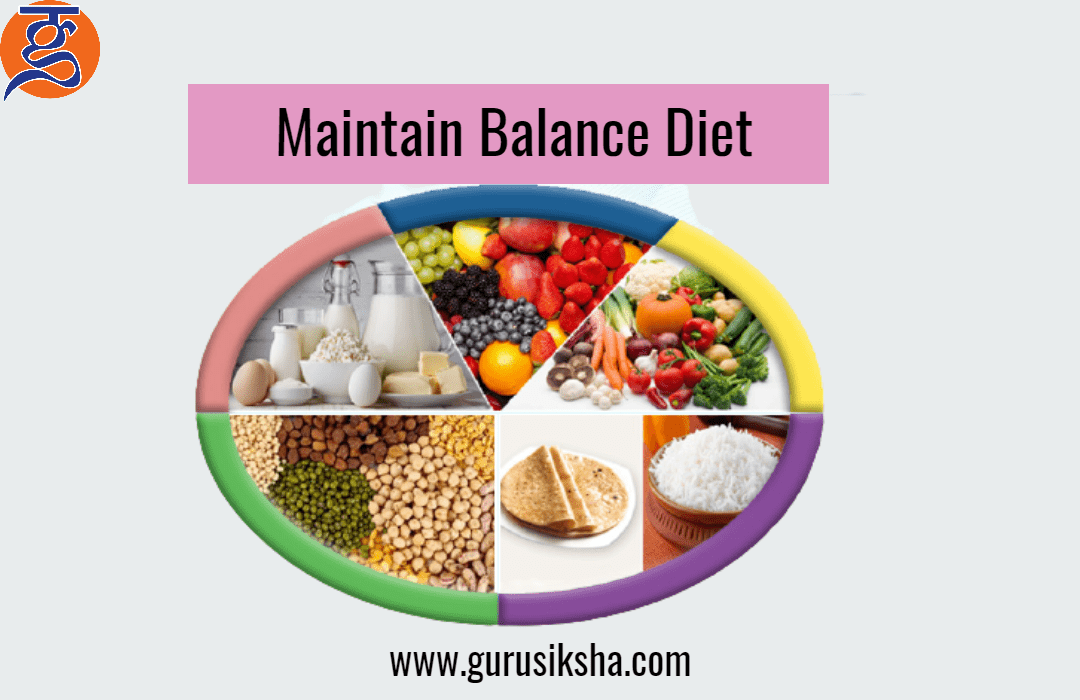Importance to maintain balance-diet by online tuition for class 8